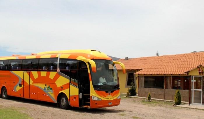 Bus Turistico: Puno Cusco